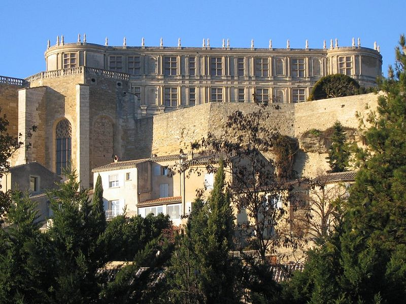 Château de Grignan en Drôme provençale