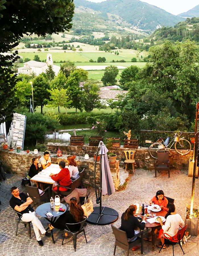 Restaurant gastronomique en Drôme provençale