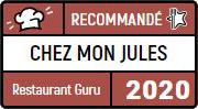Restaurant Guru, recommande Chez mon Jules